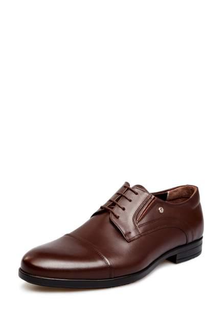 Туфли мужские Pierre Cardin 710017662 коричневые 42 RU