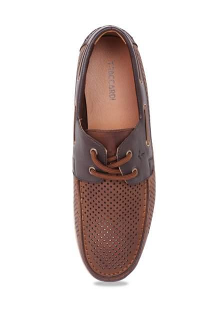 Топсайдеры мужские T.Taccardi 92706270 коричневые 42 RU
