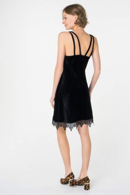 Платье-комбинация женское Fashion.Love.Story. 17FL1185 черное 40 RU