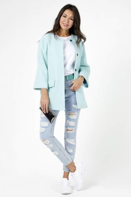 Пальто женское Tom Farr T4F W9704.02 голубое XL