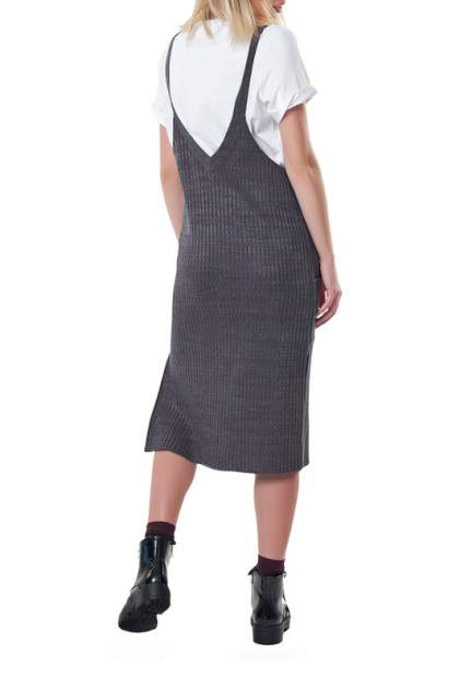 Платье женское Fly 9227-11 серое 42 RU