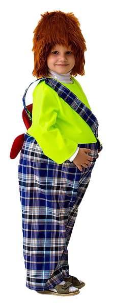Карнавальный костюм Бока Карлсон, цв. зеленый р.122