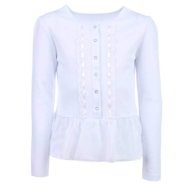 Блузка Снег, цв. белый, 146 р-р