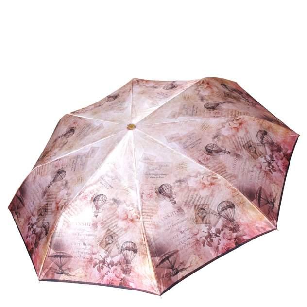 Зонт складной женский автоматический FABRETTI L-18115-1 бежевый
