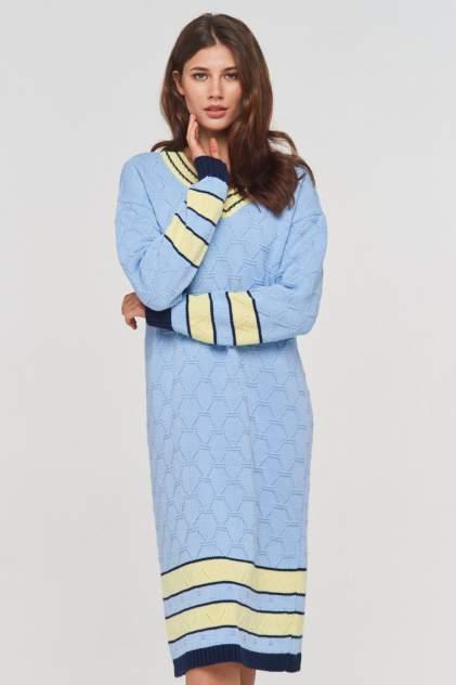 Женское платье VAY 192-2426, голубой