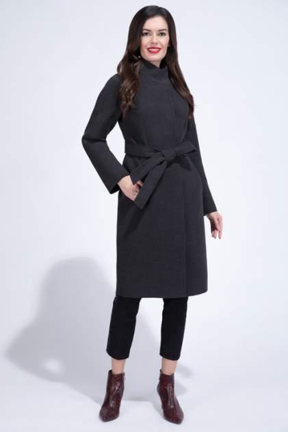 Пальто женское ElectraStyle 3-8108-128 черные 44 RU