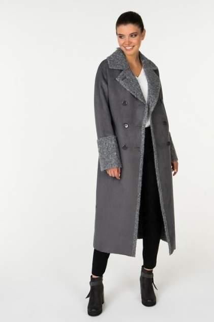 Пальто женское ElectraStyle 5-8145-278/279 серое 44 RU