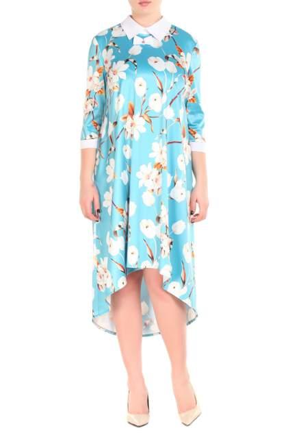 Платье женское Adzhedo 41122 голубое 3XL