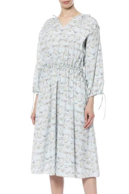 Платье женское GRAVITEIGHT G18D19125400 голубое 40 RU/42 RU
