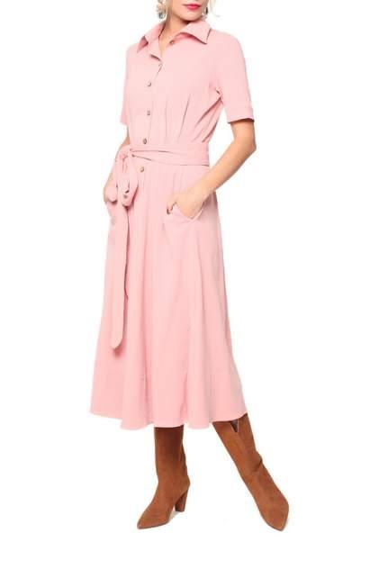 Платье женское KATA BINSKA KARLA 181241 розовое 50 EU