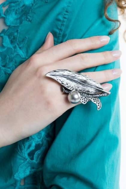 Кольцо Nina Ford TRS0065, стразы, искусственный жемчуг