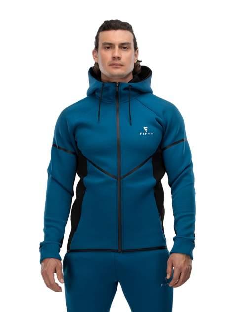 Толстовка Fifty FA-MJ-0102, синий/черный, L INT