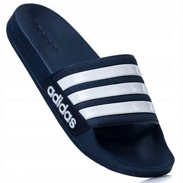Шлепанцы мужские Adidas Cloudfoam Adilette белые 9 US