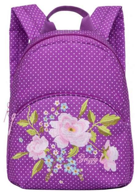 Рюкзак Grizzly RL-859-2 фиолетовый 7 л