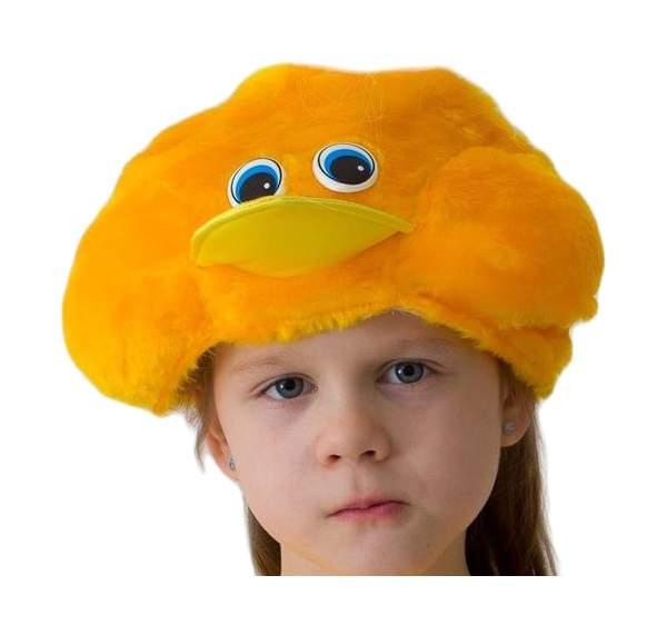 Карнавальная шапка Цыпленок, 54-56 см 1148
