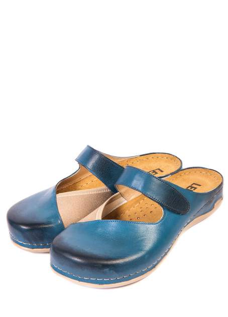 Сабо женские Leon 953DBE синие 37 RU