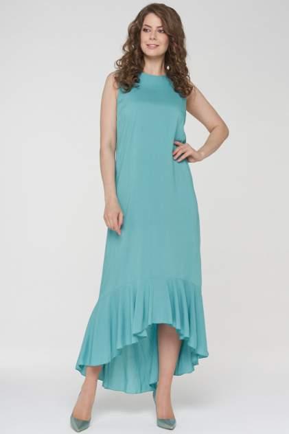 Платье женское VAY 191-3480 голубое 50 RU