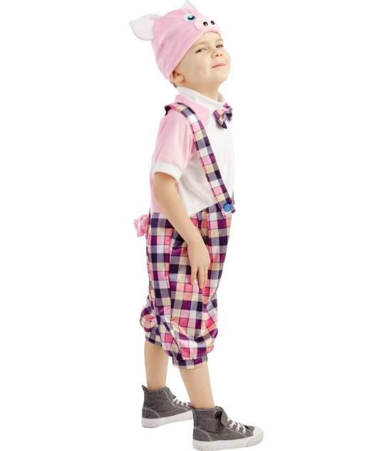 Карнавальный костюм Батик Три поросенка, цв. розовый р.104