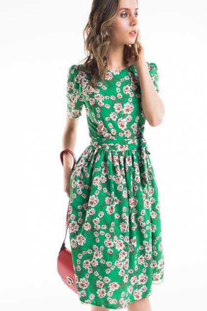 Платье женское LA VIDA RICA 5719 зеленое 44 RU