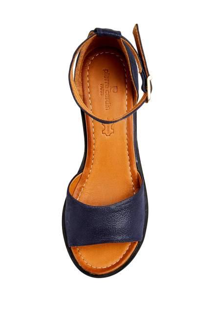 Босоножки женские Pierre Cardin 710018212 синие 37 RU