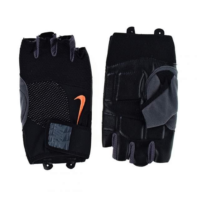 Перчатки Nike Men's Lock Down Training Gloves, черные/оранжевые, XL