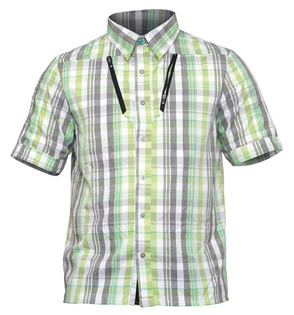 Рубашка Norfin Summer, серый/зеленый, S INT