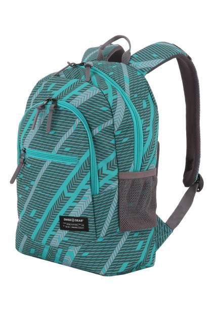 Рюкзак SwissGear 2821630406 зеленый/серый 22 л