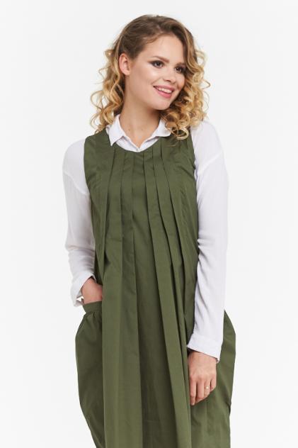 Женское платье VAY 182-3449, зеленый