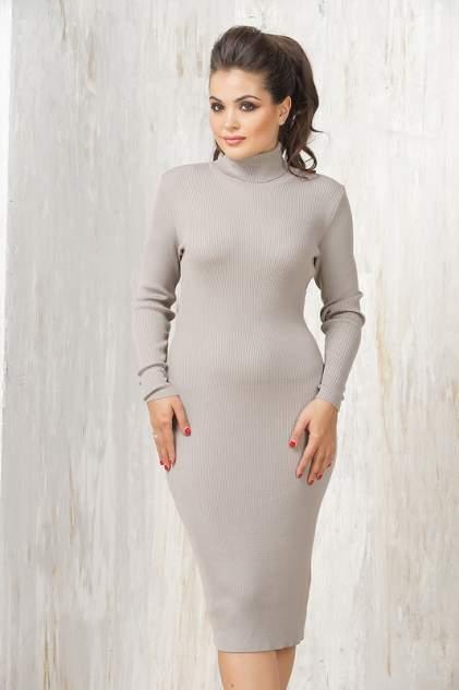 Женское платье VAY 2236, коричневый