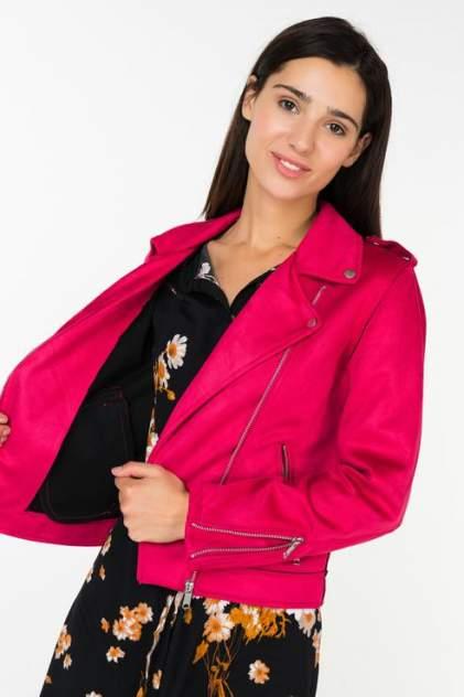 Женская кожаная куртка b.young 20804203, розовый