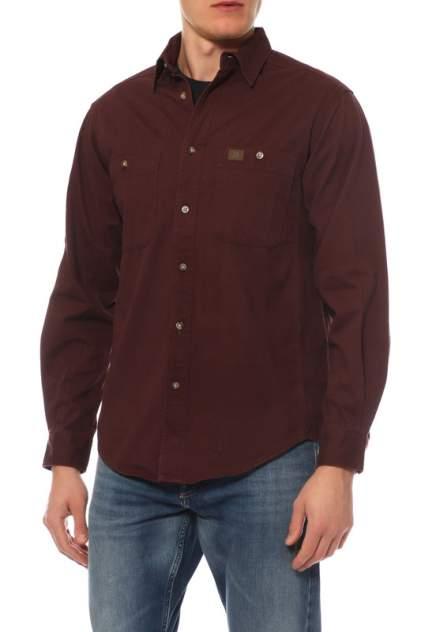 Сорочка мужская Wrangler 37080 красная 2XL