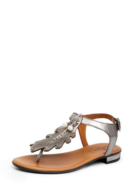 Босоножки женские Pierre Cardin 710018279 серебристые 36 RU