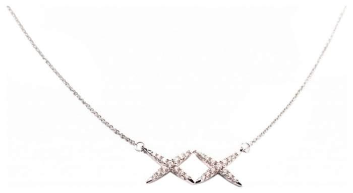 Колье женское BRADEX AS 0107, стекло/циркон