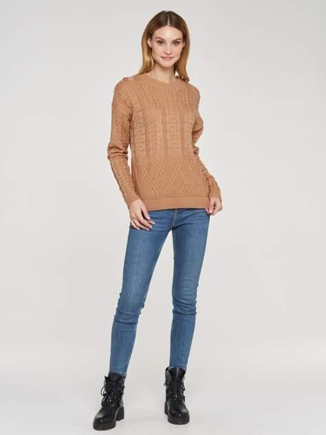 Джемпер женский VAY 192-4087 коричневый 42 RU