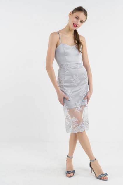 Топ женский T-Skirt SS17-04-0430-BS серый 42 RU