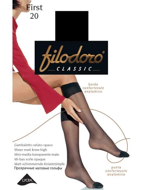 Гольфы женские Filodoro черные S