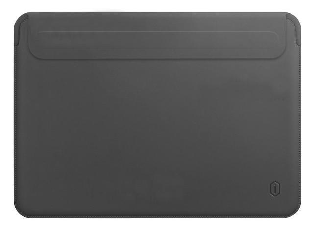 Чехол Wiwu Skin Pro 2 Leather для MacBook Pro 13/Air 13 2018 (Grey)