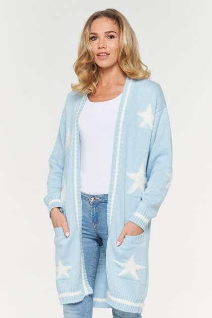 Жакет женский BE YOU BY192-14001 голубой 44 RU