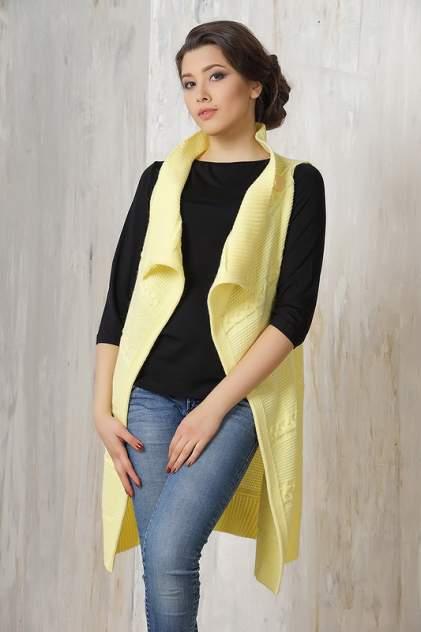Жилет женский VAY 1374 желтый 54 RU