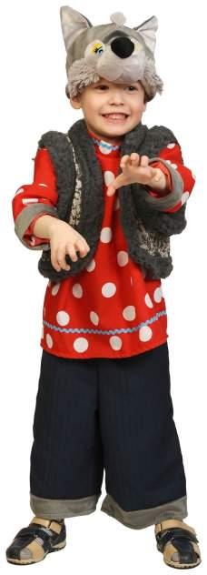 Карнавальный костюм Карнавалофф, цв. синий, красный