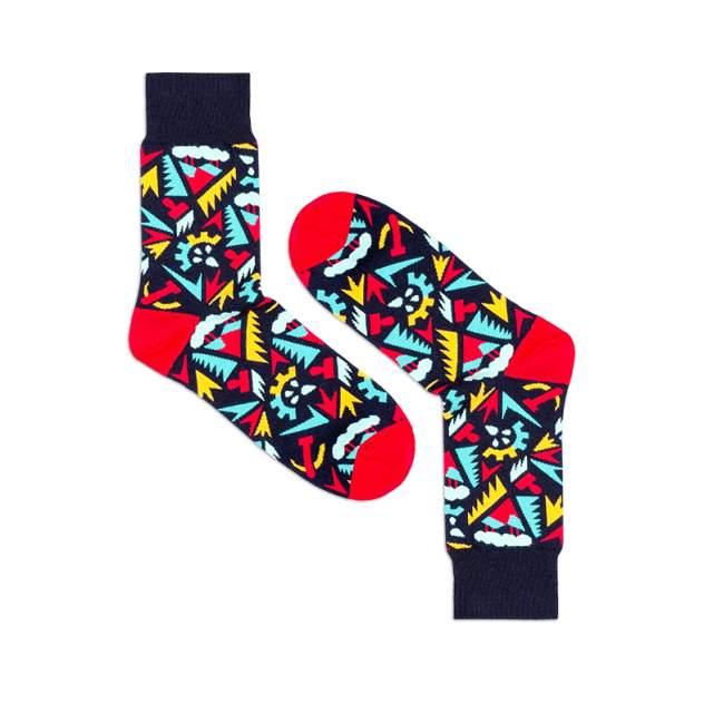 Носки унисекс Burning heels Индустрия разноцветные 36-38