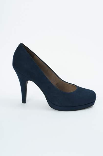 Туфли женские Tamaris 1-1-22407-22 синие 40 RU