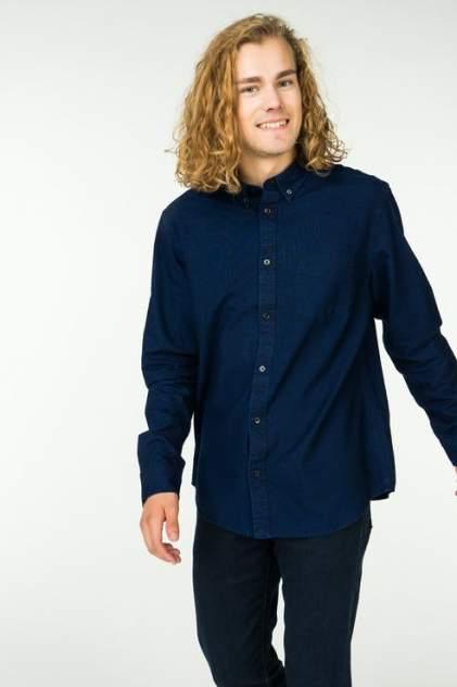 Рубашка мужская Wrangler W5874BM1E синяя M