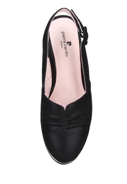 Туфли женские Pierre Cardin 710017675 черные 37 RU