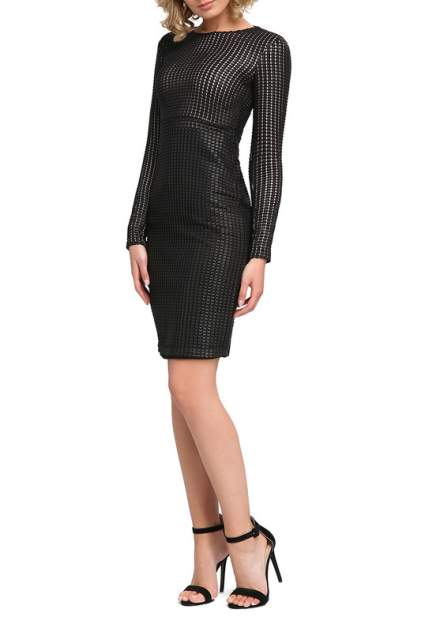 Платье женское Apart 45683 черное 46 DE