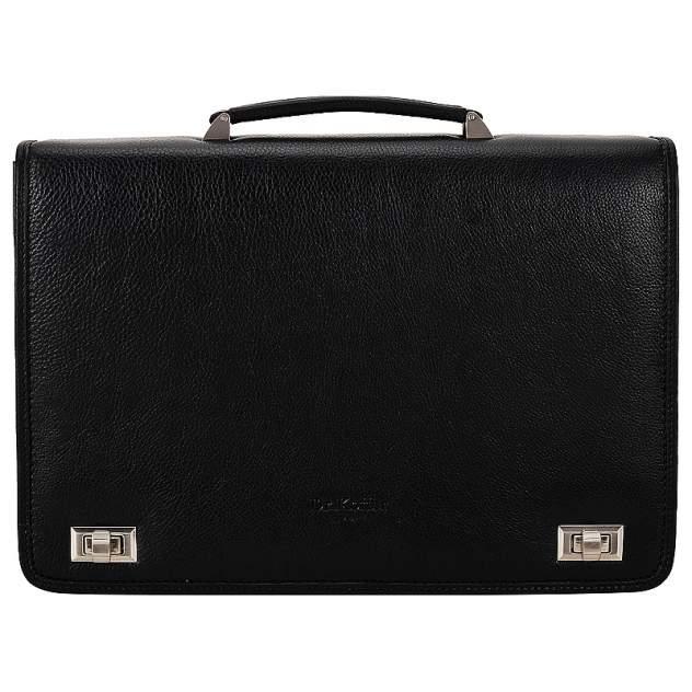 Портфель кожаный Dr. Koffer P402106-02-04 черный