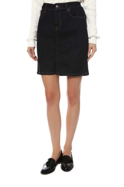 Женская юбка Tommy Jeans DW0DW05438 911, RAY RINSE BLUE STR, синий