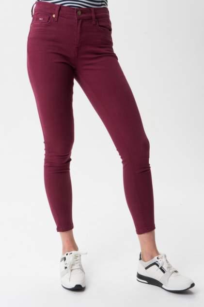 Женские джинсы  Tommy Hilfiger DW0DW07317, красный