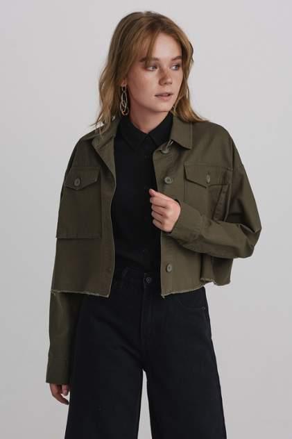 Женская джинсовая куртка befree 1931028600, зеленый