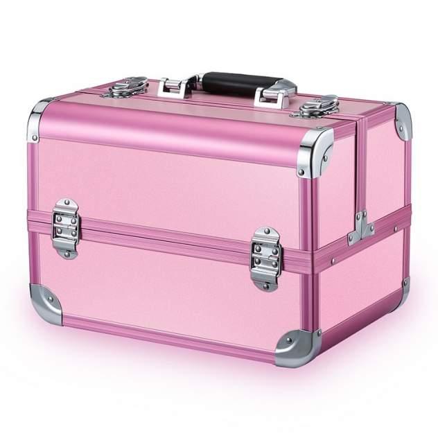 Бьюти-кейс для косметики унисекс Okira CWB7350PNK розовый